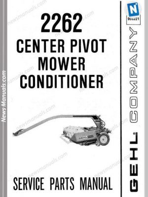 Gehl Agri 2262 Center Pivot Conditioner Parts 903221