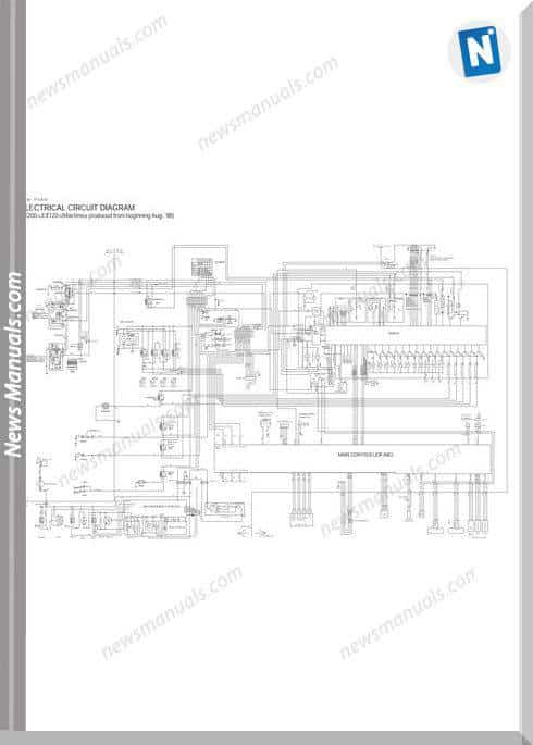 Hitachi Ex120-5 Models Troubleshooting Manual