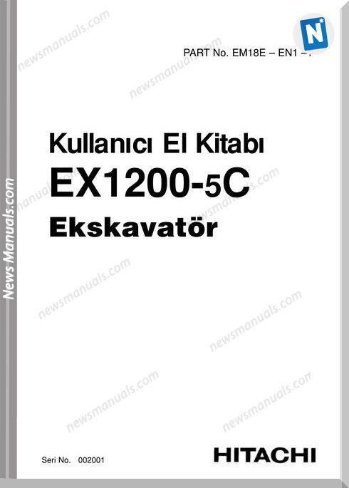 Hitachi Ex1200-5C Operator Manual