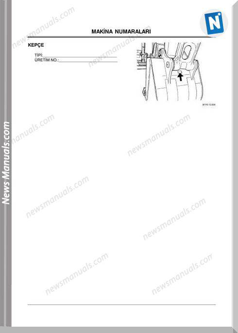 Hitachi Ex1200-5C Operator Manual