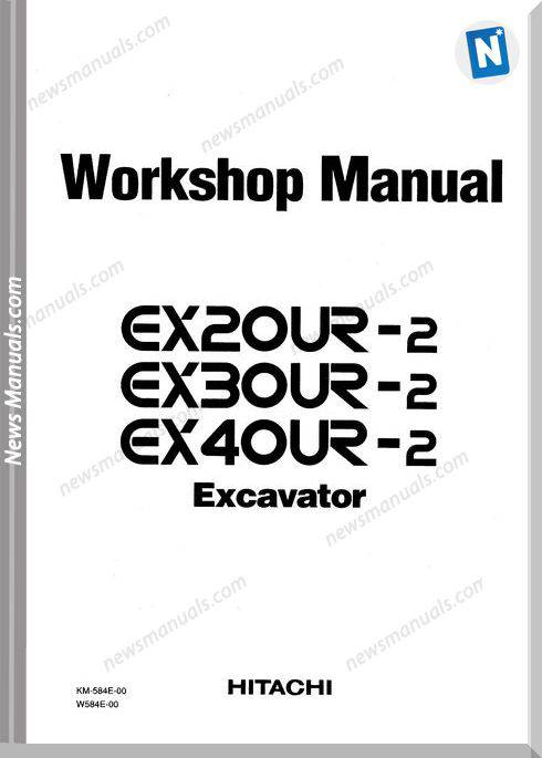 Hitachi Ex20Ur-2 Ex30Ur-2 Ex40Ur-2 Workshop Manual