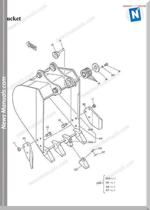 Hitachi Ex60 1 Spare Parts