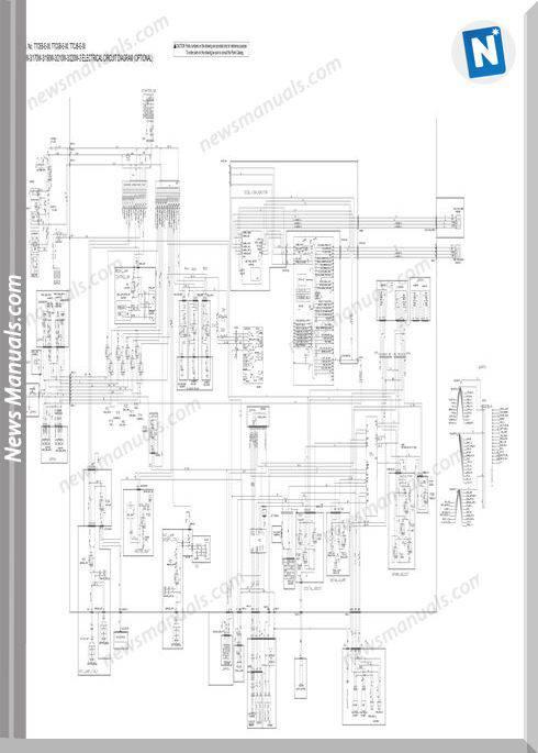 Hitachi Zx140W 170W 190W 210W 220W 3 Electrical Circuit