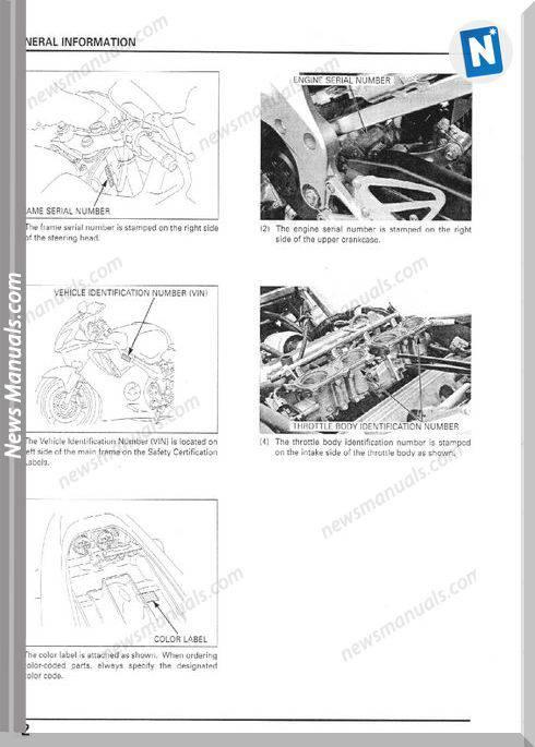Honda Cbr600F4I Service Manual