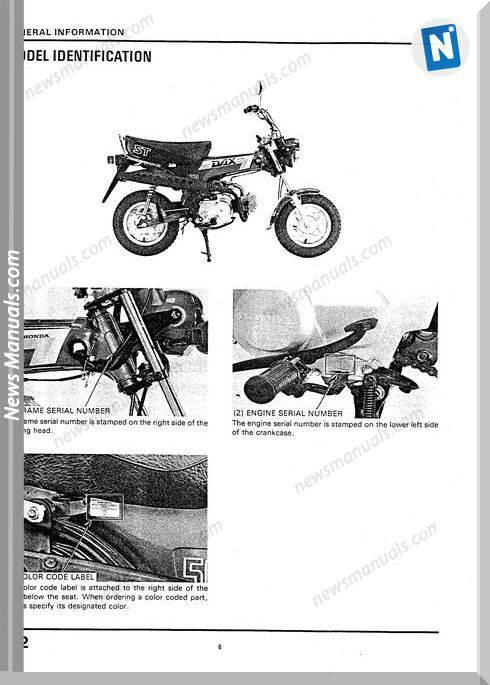 Honda Dax Service Manual