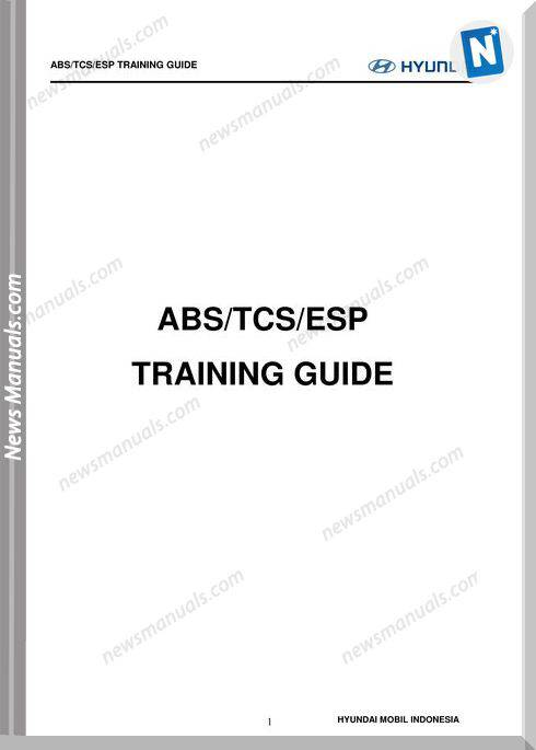 Huyndai Training Step 2 Chassis Abs Tcs Esp