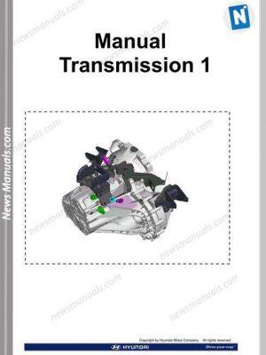 Hyundai Training Cd1 Manual Transmission 1 2009