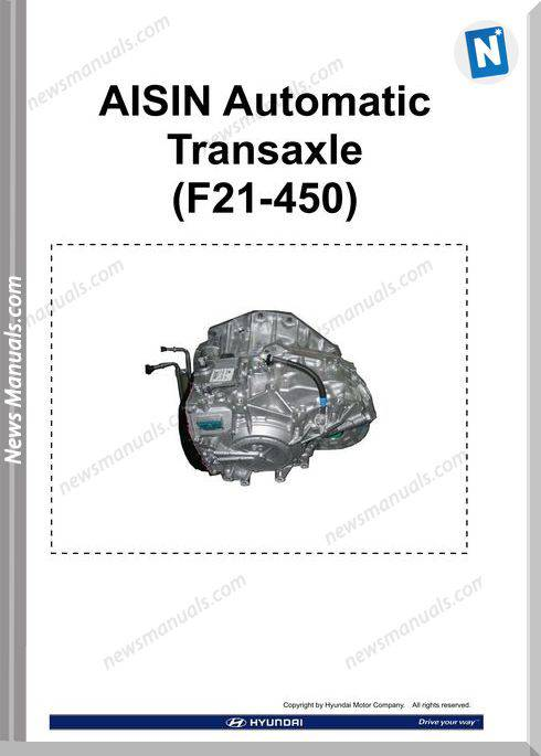 Hyundai Training Cd2 Aisin Automatic Transaxle F21 450 2009