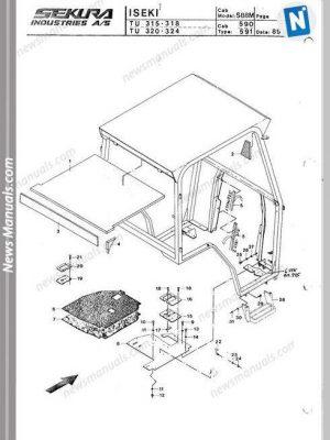Toyota Skid Steer Sdk6 8 Repair Manual