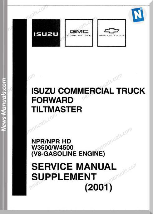 Isuzu Commerical Truck Npr 2001 Workshop Manual