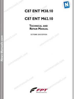 Iveco Engines C87 Ent M38.10 C87 M62.10 Repair Manual