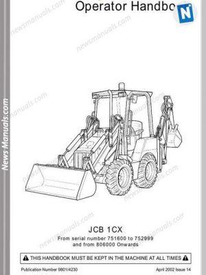 JCB All Manuals • News Manuals