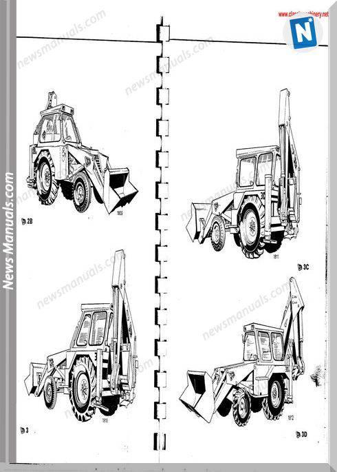 Jcb 2B 3 3C 3D 4C Mk2 1968 77 Operators Handbook