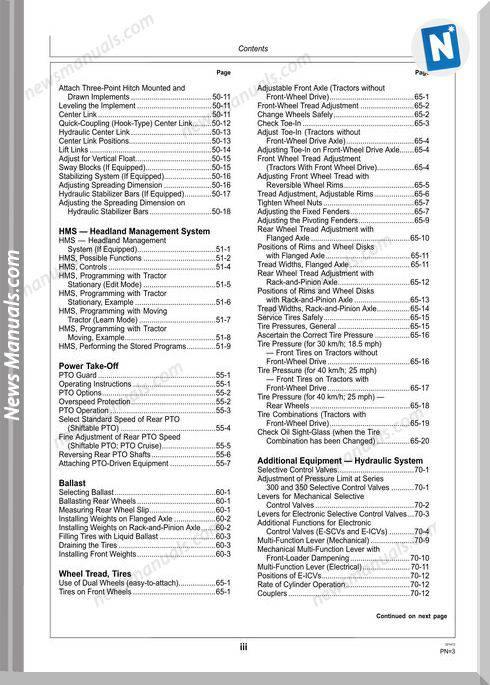 John Deere 6230, 6330 Y 6430 Operator Manual