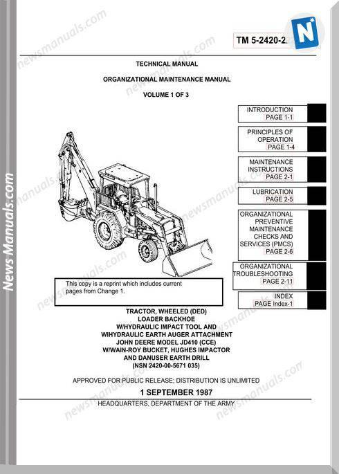 John Deere Ce 062488 Maint 1 V1 Parts Book