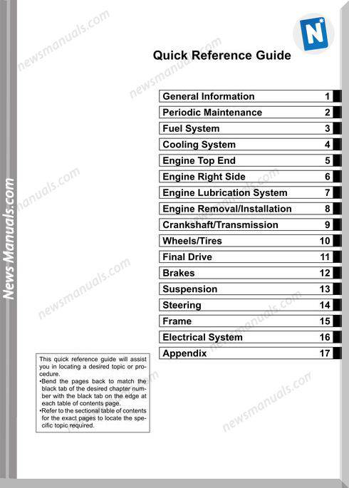 Kawasaki Kx450F 2006 Service Manual