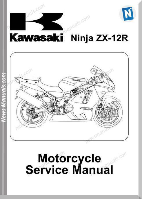 Kawasaki Zx 12R (Zx1200 B1 3) 02 A 04 Service Manual