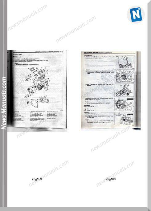 Kia Besta And Sportage 2 2 Engine Service Manual