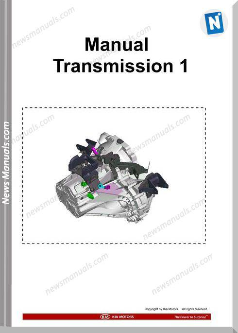 Kia Training Step 1 Manual Transmission 1 2009