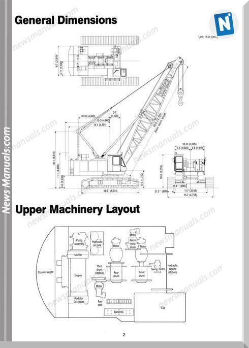Kobelco Hydraulic Crawler Crane Ck800
