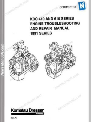 Iveco Marine Engines Series 8361 Workshop Manual