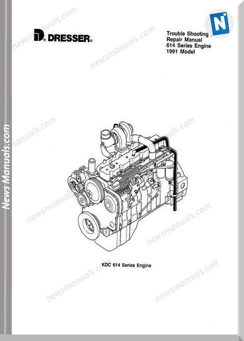 Komatsu Engine 614 Workshop Manuals 3
