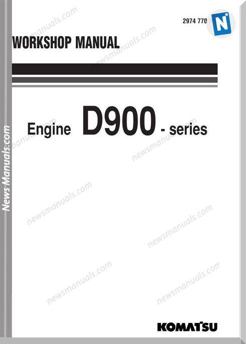Komatsu Engine D943A-1 Shop Manuals