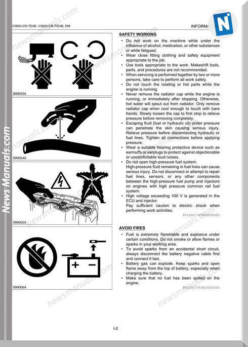 Kubota Diagnosis Manual Common Rail System