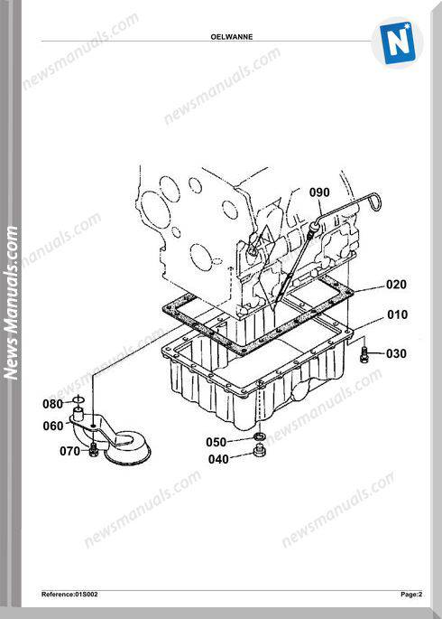 Kubota Engine Kx362 Parts Manuals