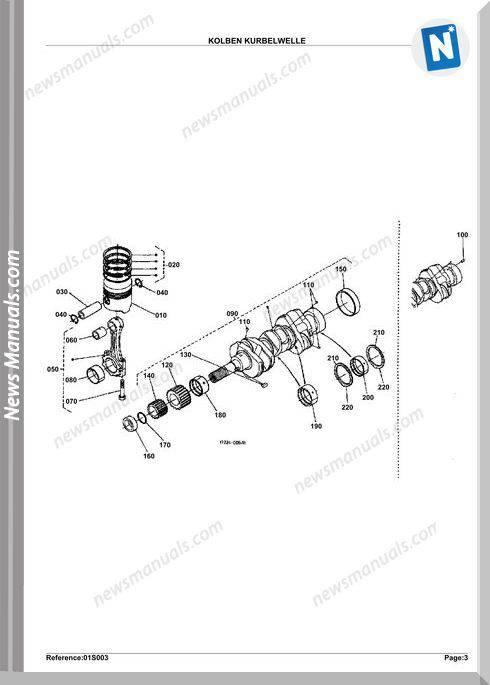 Kubota Engine Kx41Hs Parts Manuals