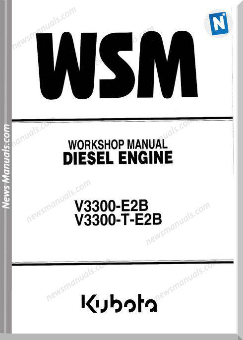 Kubota Workshop Manual V3300