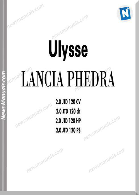 Lancia Phedra Servicemanual