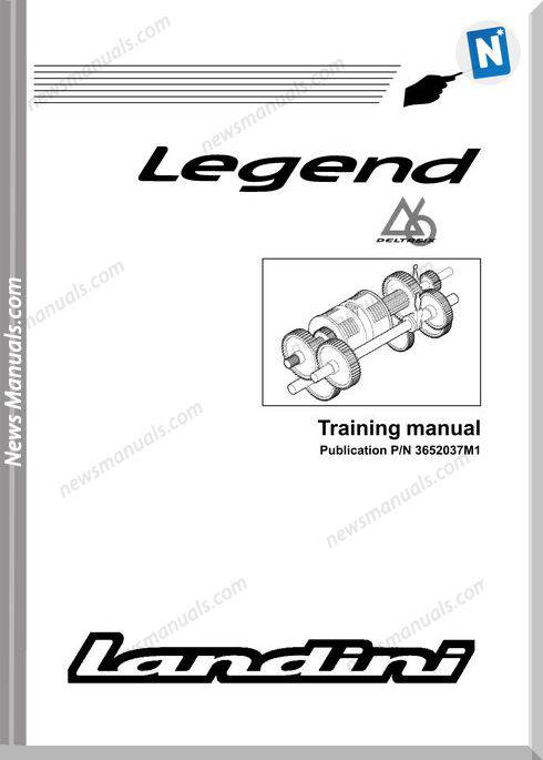 Landini Legend Training Manual 2