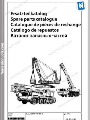 LIEBHERR All Manuals • News Manuals