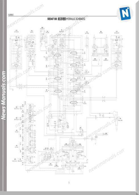 Liugong Clg925Lc Excavator Hydraulic Wiring Diagram