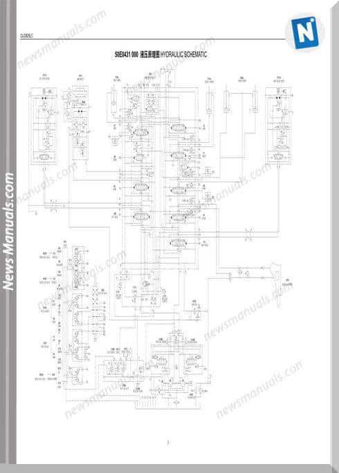 Liugong Clg925Lc Excavator Hydraulic Wiring Diagram