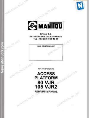 MANITOU All Manuals • News Manuals