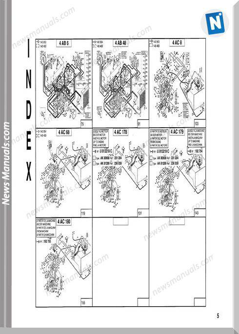 Manitou Forklift Ma460,Ma470-47970Pd Parts Manuals