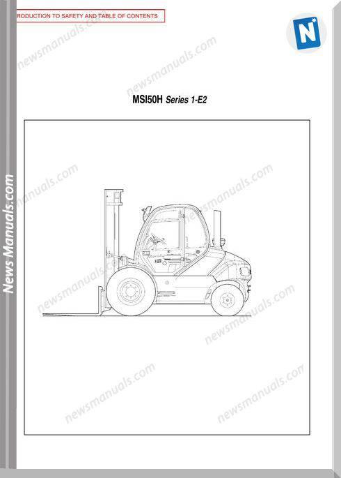 Manitou Msi50H-547886Asd Operator Manuals
