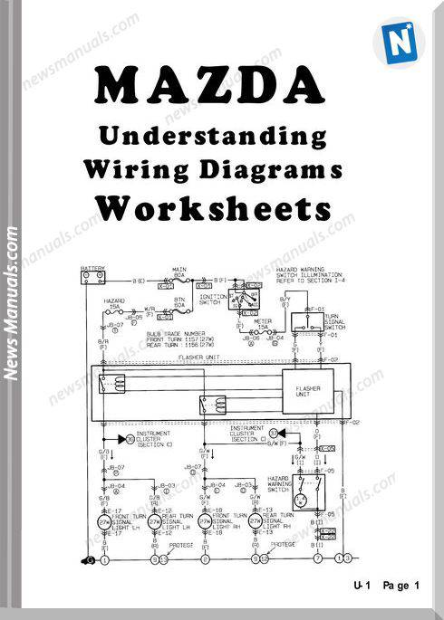 Mazda Body Electrical Workbook