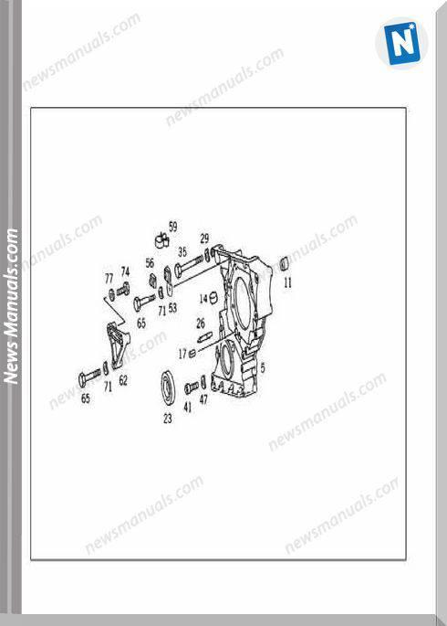 Mercedes Benz 190 W201 Parts Catalog