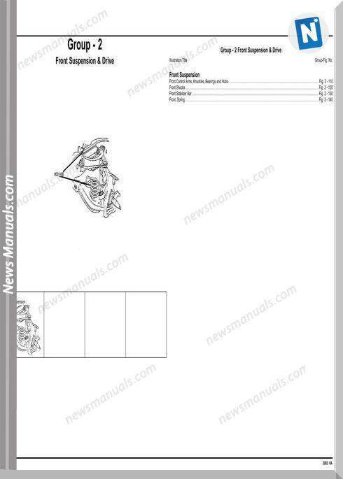 Mercedes Benz Sprinter 2003 Parts Manual