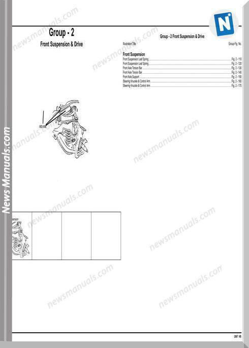 Mercedes Benz Sprinter 2007 Parts Manual