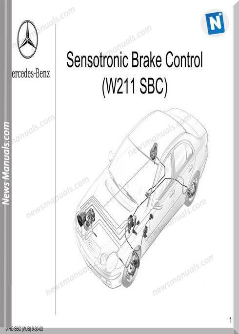 Mercedes Technical Training 319 W211 Ho Sbc Wjb 9 30 02