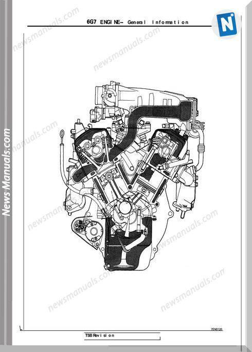 Mitsubishi Engine 6G72 Manual
