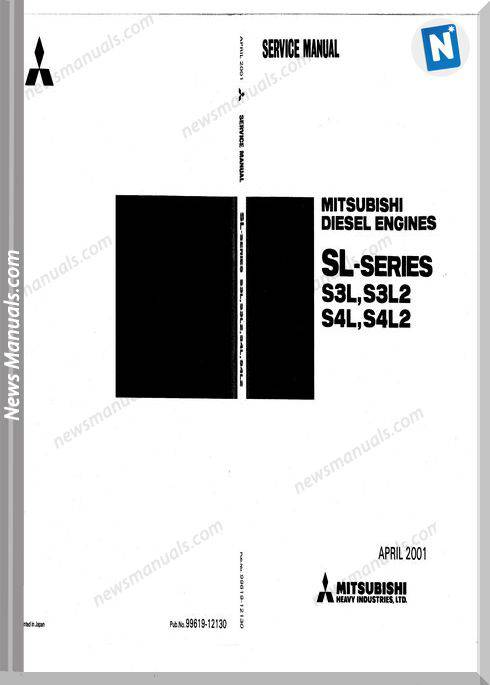 Mitsubishi Sl Engine Service Manual