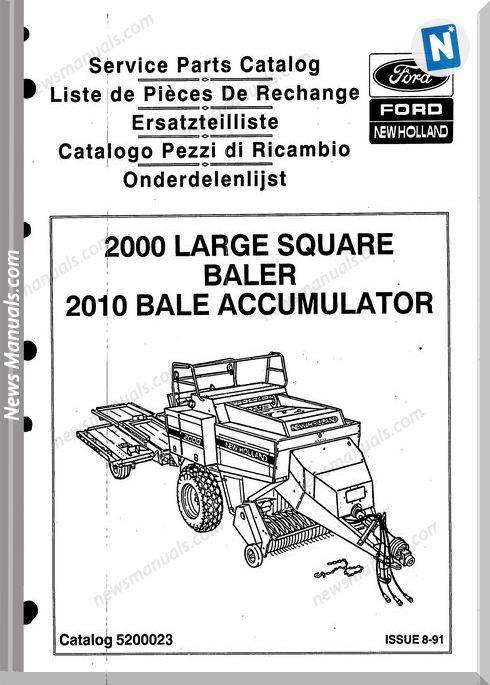 New Holland 2000 2010 Part Catalogue
