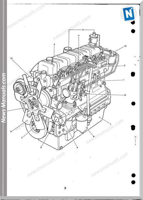 New Holland Engine Perkins 6.354 Part Catalogue