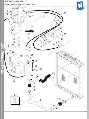 Toyota Forklift Cbt4-6, Cbty4 Ce654-1 Service Manual