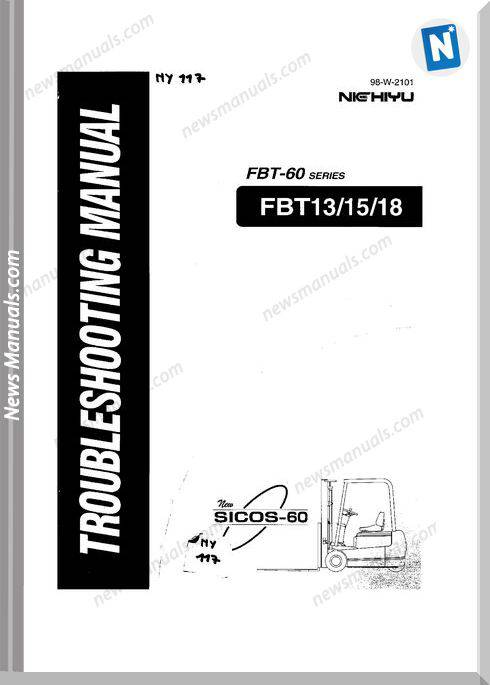 Nichiyu Forklift Fbt 13 15 18 Sicos 60 Troubleshooting Manual